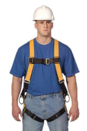 Miller Titan by Honeywell TF4007/S/MAK Polyester T-Flex Stretchable Harness, Small/Medium
