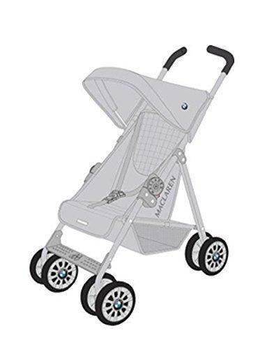 Maclaren Toy BMW Buggy Stroller, Silver by Maclaren