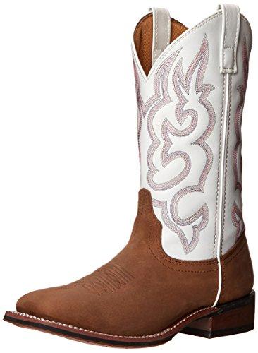 Laredo Womens Mesquite Western Boot Taupe/White