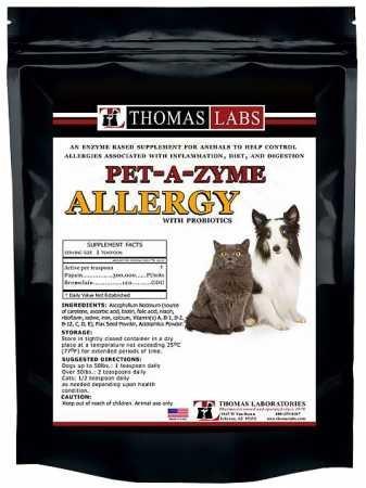 Thomas Labs PetAZyme Allergy Powder (12 oz)