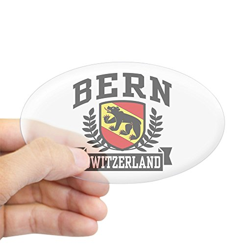 CafePress - Bern Switzerland Sticker (Oval) - Oval Bumper Sticker, Euro Oval Car Decal
