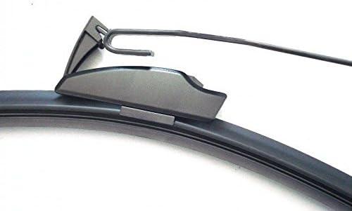 500mm 450mm Good Wiper Aero 2x Front Scheibenwischer Flachbalkenwischer Mit Hakenbefestigung Wischerblätter Set Für Auto Frontscheibe Inion Auto