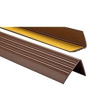 ProfiPVC Zelf klevende PVC trap neus - trapprofiel van getest PVC, anti-slip