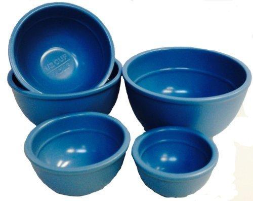 Mario Batali 5-piece Measuring Prep Bowl Set, Country Blue by Copco