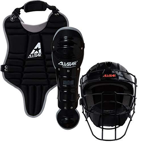 All-Star Youth League Series Catchers Gear Sets Tee Ball Black - Little League Gear