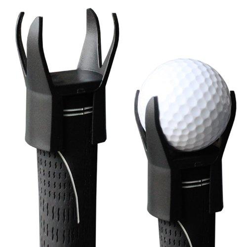 Ball 2 Retrievers (Andux Golf Ball Pick up Tool 4 Prongs Attachable Retriever Putter Grip Qj-2)