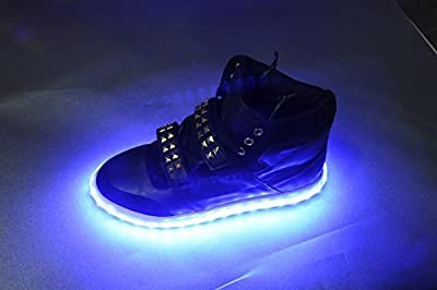 BLUE - LED Shoe KIT -- UNIVERSAL fit - will fit any shoe - Light up YOUR shoes with our LED shoe light KIT