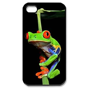 Hard Shell Case Of Frog Customized Bumper Plastic case For Iphone 4/4s