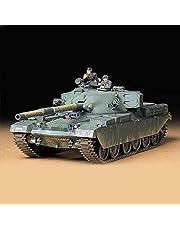 TAMIYA 300035068 35068 1:35 Brit. KPz Chieftain Mk.5 (3), modelbouwset, plastic bouwpakket, bouwpakket voor montage, gedetailleerde replica