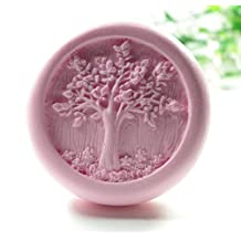Longzang Life Tree Mould S424 Craft Art Silicone Soap Mold Craft Molds DIY Handmade Candle Molds