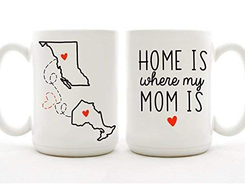 Amazoncom Home Is Where My Mom Is Mug Handmade