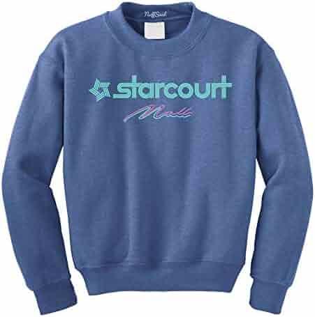 d077102843b5e8 NuffSaid Hawkins Starcourt Mall Crewneck Sweatshirt - Unisex AV Club Crew