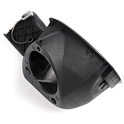 Fuel Filler Neck Housing Gas Door For 04-08 Ford F150 F-150 Replacement Part OEM 4L3Z-9927936-BA Tank Hinge Pocket Assembly Doors Spring Cap Lid Cover - Replaces 4L3Z9927936BA: Automotive