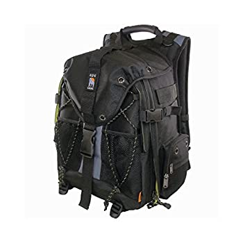 Image of Ape Case, ACPRO1900, Backpack, Standard size, Laptop compartment, Padded, Rain cover included, Adjustable straps, Camera Backpack, Equipment bag, Black (ACPRO1900)