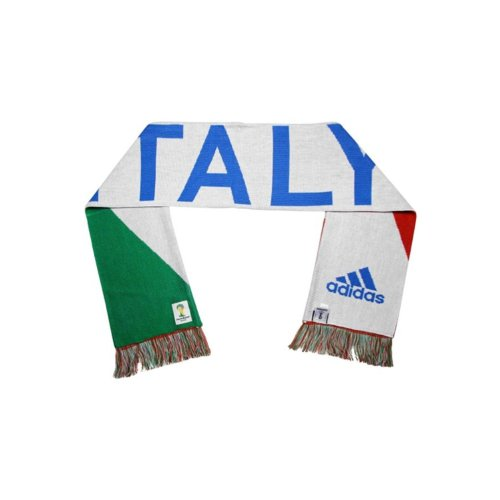 Adidas Italy Scarf White/Blue