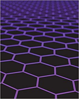 organic chemistry hexagonal graph paper notebook hybrid with lined