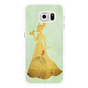 DiyPhoneDiy Disney Series Phone Case For Samsung Galaxy Note 4 Cover , Lovely Cartoon Tinker Bell For Samsung Galaxy Note 4 Cover , Only Fit For Samsung Galaxy Note 4 Cover (White Frosted Shell)