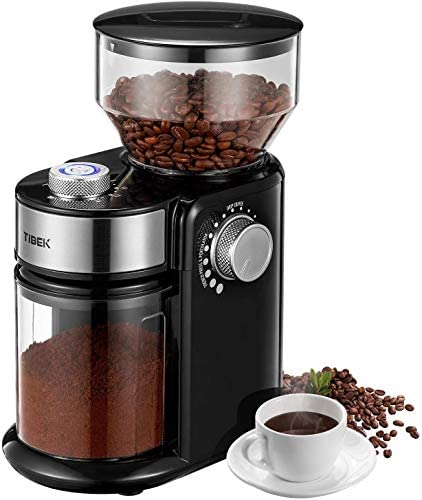 Electric Burr Coffee Grinder, Update New