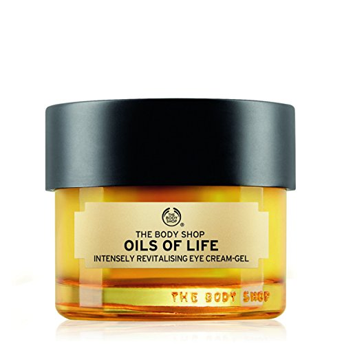 The Body Shop Oils Of Life Intensely Revitalising Eye Cream Gel  0 69 Oz