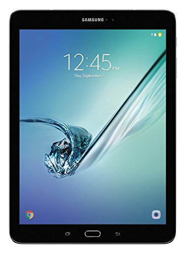 """Samsung Galaxy Tab S2 9.7"""" HD+ (32GB) Octa-Core Wi-Fi Tablet with Book Cover Bundle SM-T813N (US Warranty) (Black w/Book Cover)"""