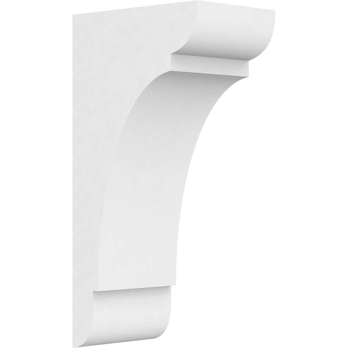 Ekena Millwork CORP03X05X10OLY PVC Corbel 3W x 5D x 10H White