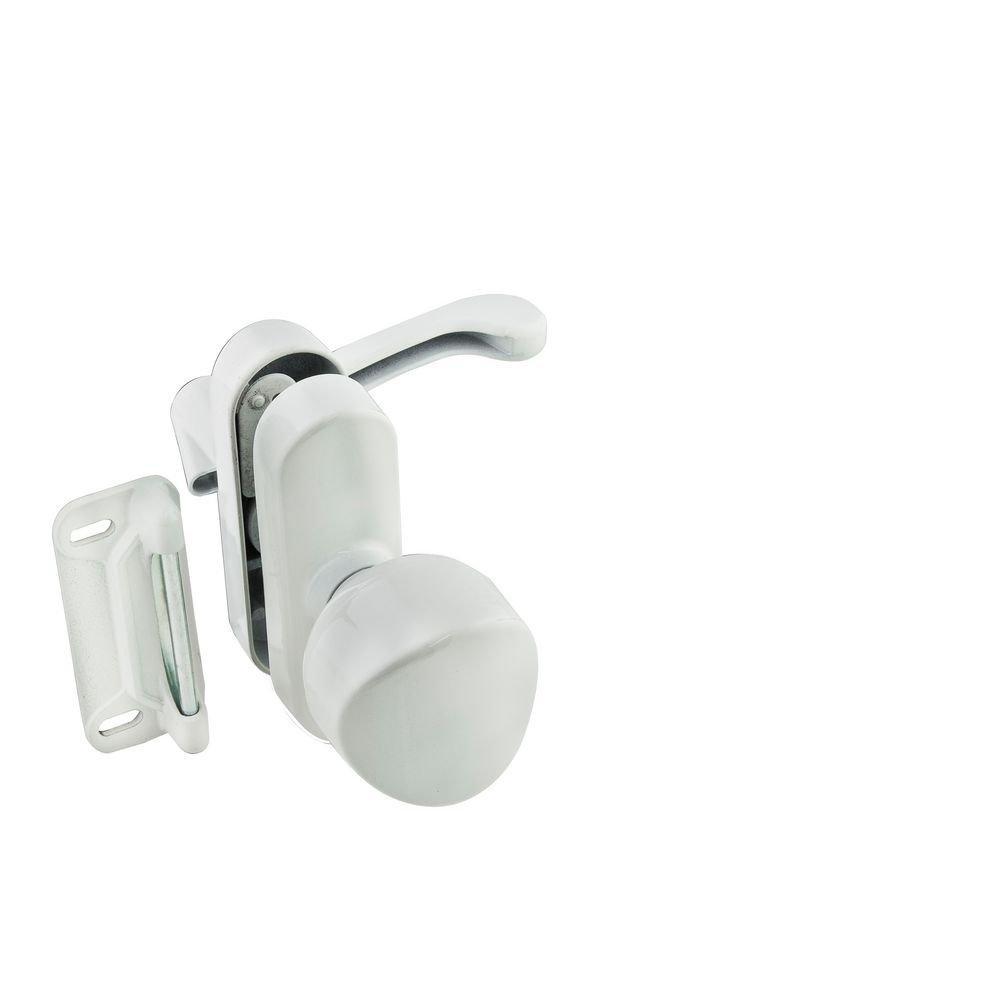 National Hardware N262-162 V1319 Universal Knob Latch in White