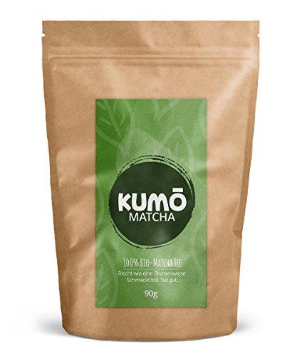 Bio-Matcha-Tee (90g) für klassischen Matcha Tee, for Cooking, Smoothies | 90g hochwertigstes Bio Matcha Tee Pulver | 100% Bio - aus nachhaltigem Anbau
