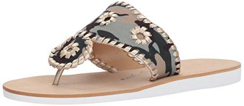Platinum Women's Jack Rogers Camo Sandal Flat Captiva qTv5wYwxA6