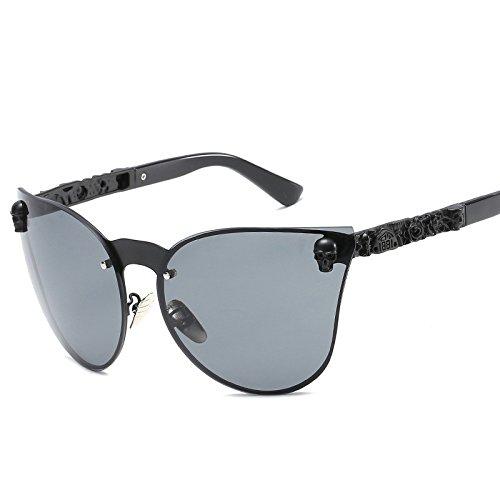 8ab5418c475 Clearance Sale!OverDose Unisex Women Men Ins Hot Half Metal Vintage  Mirrored Sunglasses Eyewear Outdoor Glasses with Storage Case( 1)   Amazon.co.uk  ...