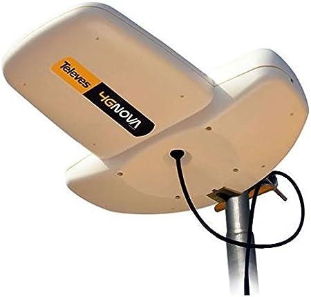 Antena 4G Nova de Televes con conexión SMA