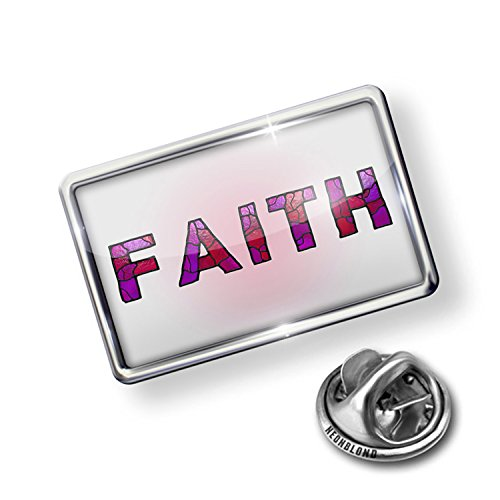 Pin Faith Purple Stained Glass - NEONBLOND