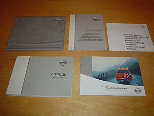 nissan x trail owners manual handbook with wallet 2000 2007 t30 rh amazon co uk owners manual nissan x trail 2003 owners manual nissan x trail
