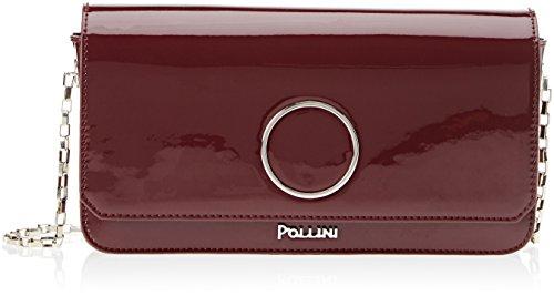 Pollini Sc4525pp04si0550, Borsa a Mano Donna, Rosso (Bordeaux), 0.1 x 0.1 x 0.1 cm (W x H x L)