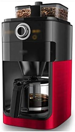 LNDDP Cafetera Americana, cafetera para el hogar, cafetera Totalmente automática, Bandeja Doble Granos, cafetera automática, Reserva café, operación con un botón, 212 mm נ277 mm נ440 mm: Amazon.es: Deportes y aire libre