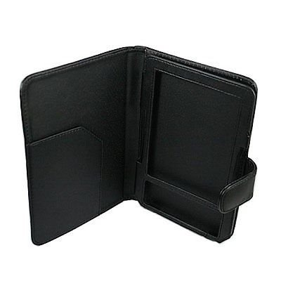 Black PU Leather Case Cover for Reader Amazon Kindle 3 3G Wi-Fi 3rd - Kindle 3g Keyboard Wifi