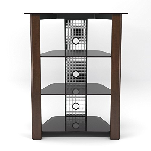 Gibson Living Ashton Multi-Level Component Stand in Wood Espresso ()