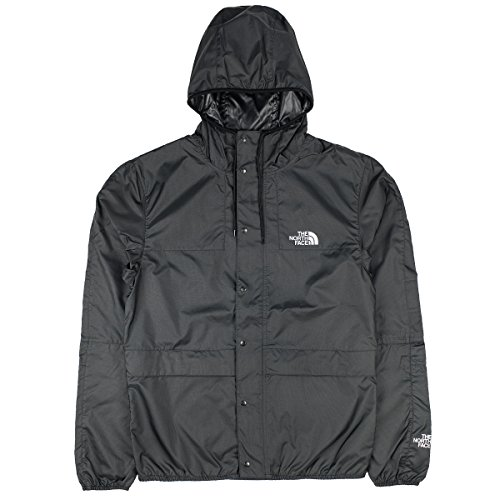 The North Face Men Lightweight Jacket 1985 Mountain, Size:2XL, Color:Black/high Rise Grey (Light Face Mountain Jacket North)