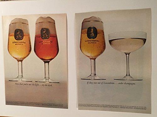 1965-lowenbrau-beer-magazine-print-ad-lot-of-3