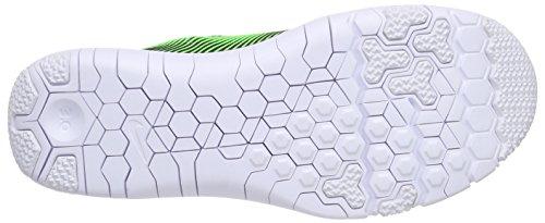 Nike Free Trainer 3.0 V4 - Zapatillas para hombre Negro / Verde / Azul / Blanco (Black / Green Strike-Soar-White)