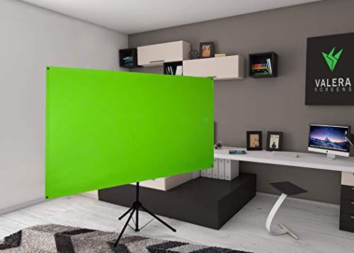 Valera Explorer 70: 2-in-1 Green Screen | 70 inch | Portrait