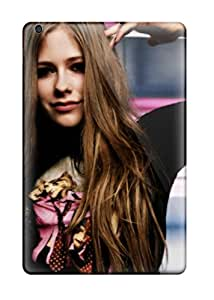 Hot 8020401I46742878 Hot Design Premium Tpu Case Cover Ipad Mini Protection Case(avril Lavigne)