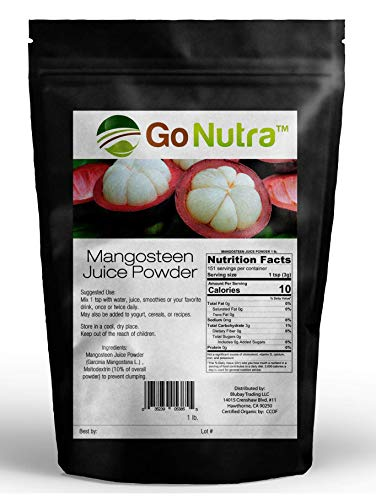 Mangosteen Juice Powder 1 lb. | Mangosteen Powder | Garcinia Mangostana | Antioxident Superfood Smoothie For Sale