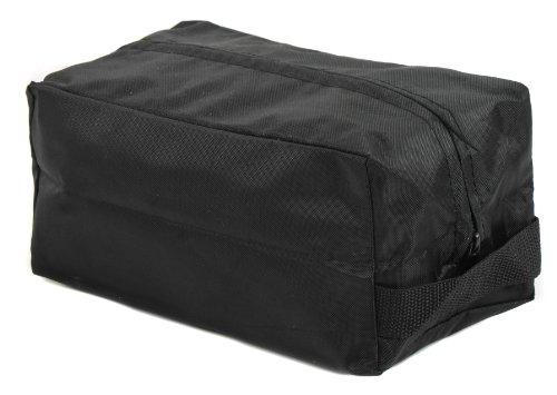 Raine Shaving/Ditty Bag, Black