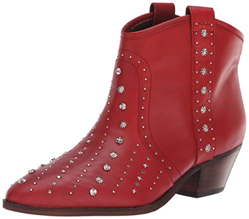 Ladies Red Leather - 6