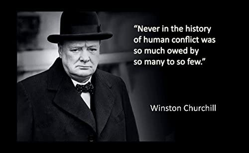 Door Sign Quote By Winston S Churchill Large Wooden Wall Plaque DP00002442