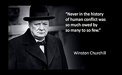 Amazoncom 12x18 Poster Famous Quote Famous Quote Winston Churchill