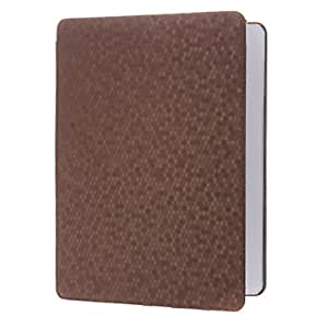Honeycomb Pattern Solid Color PU Full Body Case with Stand for iPad 2/3/4 (Optional Colors) , Black