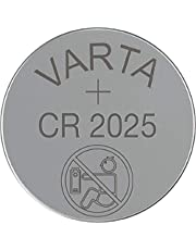 Varta CR2025 Lithium Non-Rechargeable Coin Battery - 3 Volts