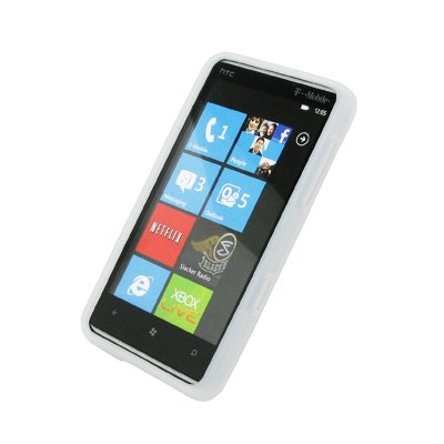 EMPIRE Klar Silicone Skin Cover Case Tasche Hülle for HTC HD7