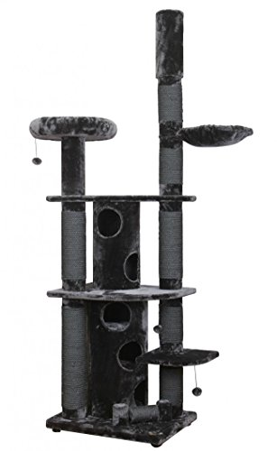 Europet-Bernina-Cat-Scratching-Post-Comfort-La-Cathedral-drale-9-Layers-For-Away-Grey